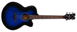 DEAN  AXS PERFORMER A/E - BLUE BURST