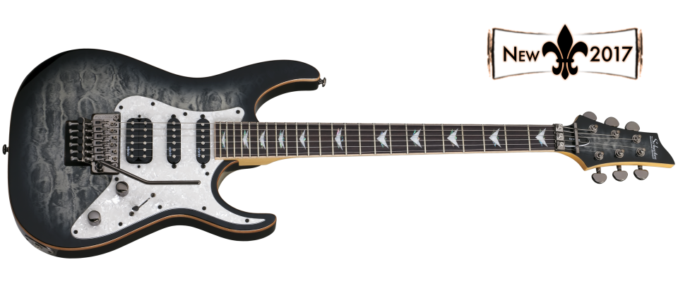 Schecter Banshee-6 with FR