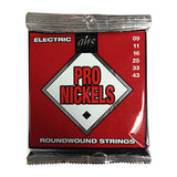 GHS guitar strings pro nickels 9-43