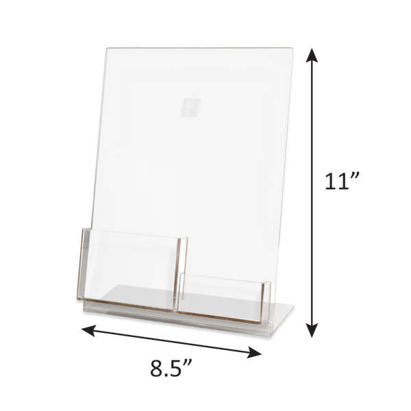 Gift Card and Envelope Acrylic Display Stand