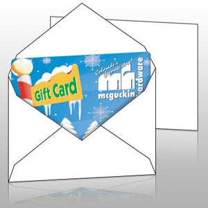 Vend Gift Cards - Blank Gift Card Envelope