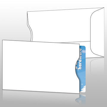 Blank Gift Card Sleeves