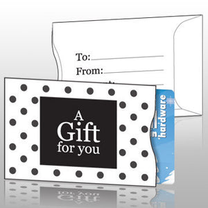 Vend Gift Cards - Polka Dot Gift Card Sleeves