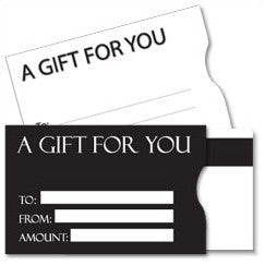 Vend Gift Cards - Plastic Gift Card Sleeves