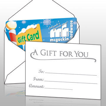 Vend Gift Cards - White Gift Card Envelopes