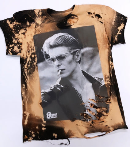 Smokin' Hot David Bowie T-
