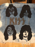 Limited Edition Kiss Denim Jacket