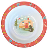 5 Piece Retro Kids Dish Set