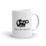 Camp Coffee Mug - Enjoy The Journey - Camping Mugs