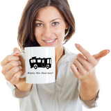 Camping Mug - Enjoy The Journey - Motorhome - Camp Coffee