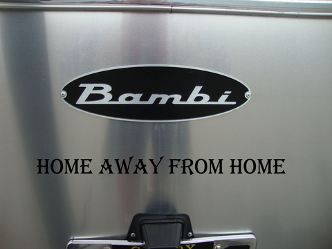 Home Away From Home - Exterior RV Vinyl Decals