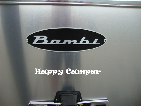 Happy Camper - Exterior RV Vinyl Decals