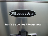 Let's Go On An Adventure - Exterior RV Vinyl Decals