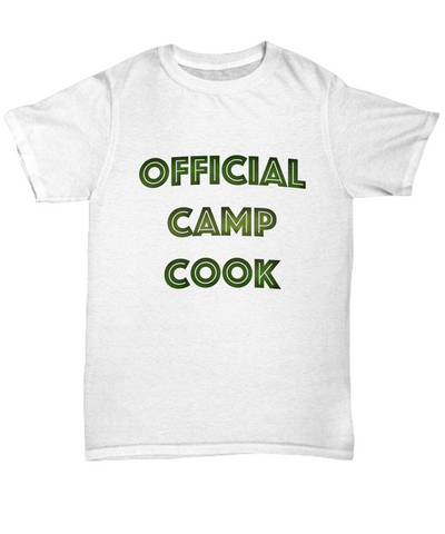 Official Camp Cook Tshirt