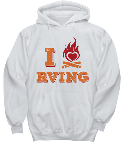 Glamping Gift - I love RVing Hoodie