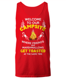 RVing Tank Top - Welcome To Our Campsite