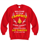 RVing Sweatshirt - Welcome To Our Campsite
