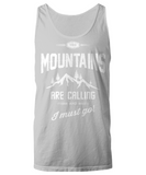 RVing Tank Top - Mountains Are Calling