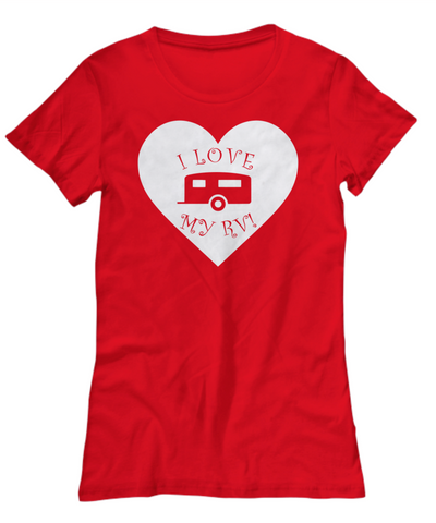 I Love My RV - Travel Trailer T-Shirt