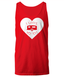 I Love My RV - Travel Trailer Tank Top