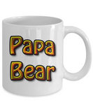 Coffee Cup- Papa Bear Mug