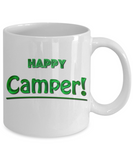 Camping Coffee Cup - Happy Camper