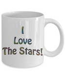 Gift for Campers - I Love The Stars :) Mug