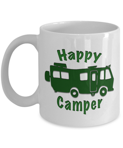 Motorhome - Happy Camper - Coffee Mug