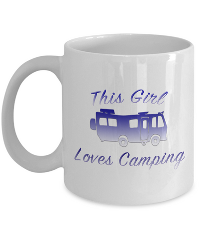 Motorhome - This Girl Loves - Coffee Mug