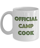 Best Camping Mug-Official Camp Cook...Mug