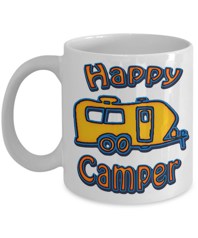 Happy Camper - Travel Trailer Mug