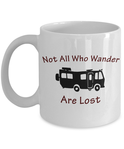 Motorhome - Not All Who Wander - Coffee Mug