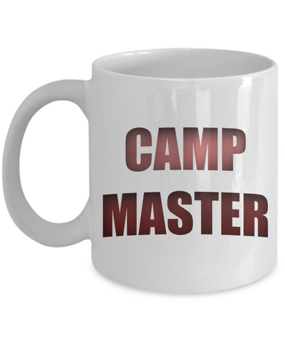 Camping Coffee Cup - CAMP MASTER Mug