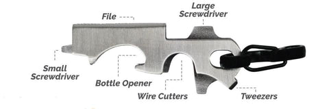 8 in 1 Key Gadget Can Opener