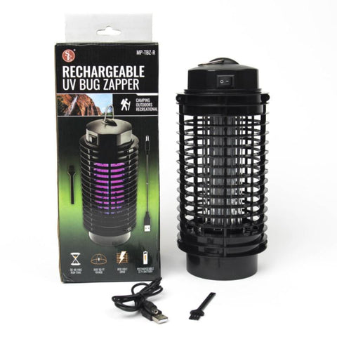 Cordless Rechargable UV Bug Zapper - Covers Up To 500Sq Ft