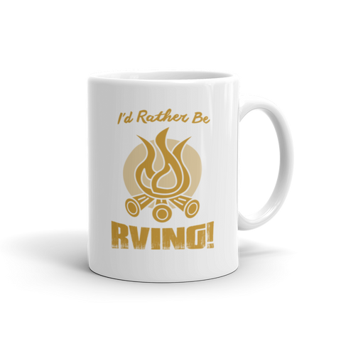 Mug - I'd Rather Be RVing