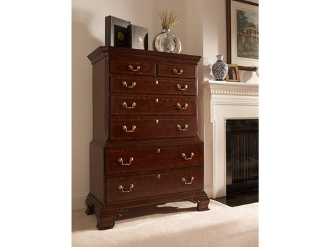 American Cherry Hampton Chest on Chest