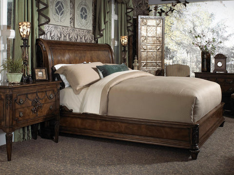 Belvedere CA King Sleigh Bed
