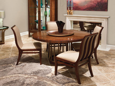 Boulevard Round Dining Table Top and Base