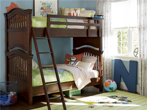 Universal Furniture Classics 4.0 Twin Bunk Bed - Classic Cherry