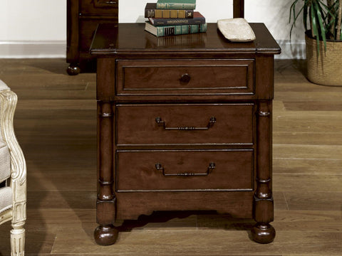 Harbor Springs Three Drawer Nightstand