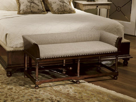Harbor Springs Linen Bench