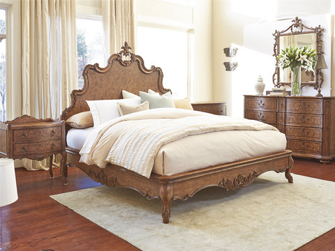Biltmore Tyrolean Queen Panel Bed
