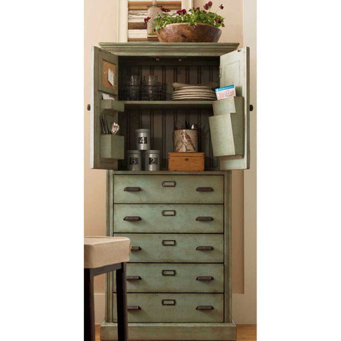 Universal Furniture Down Home Paula's Kitchen Organizer Cabinet