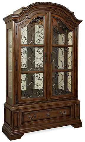 Universal Furniture Escalara Valencia Display Cabinet Deck