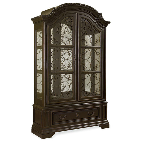 Universal Furniture Castella Valencia Display Cabinet Deck