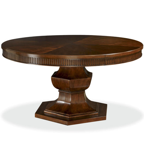 Universal Furniture Silhouette Pedestal Table Base