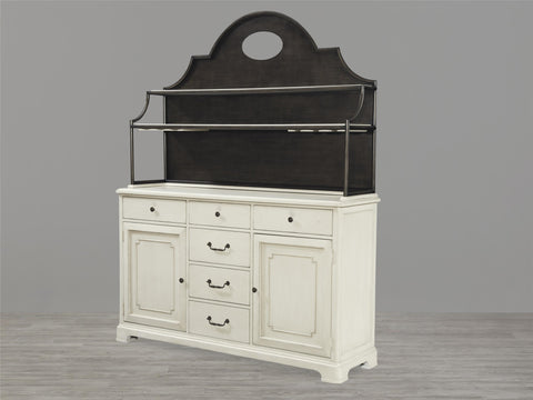 Universal Furniture Riverhouse Home Cooking Cupboard Hutch