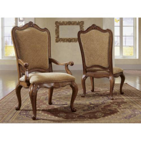 Universal Furniture Villa Cortina Uph Bk Side Chair (2/ctn KD)
