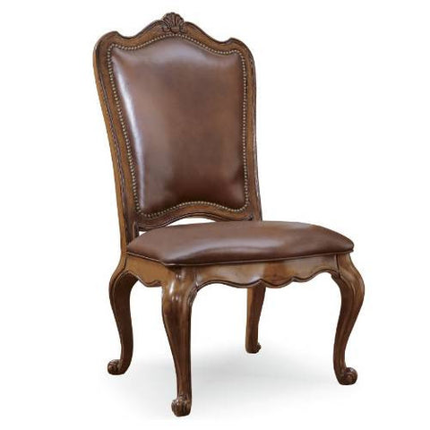 Universal Furniture Villa Cortina Uph Bk Side Chair LEATHER